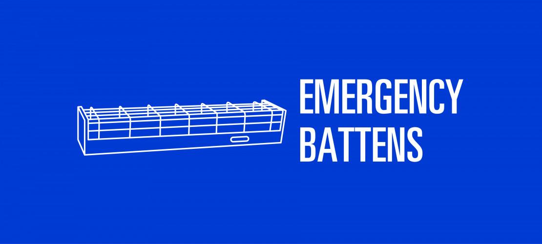 LED Emergency Battens